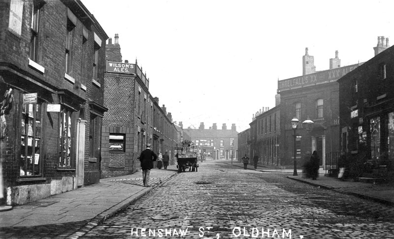 Oldham Historical Research Group - henshaw-street