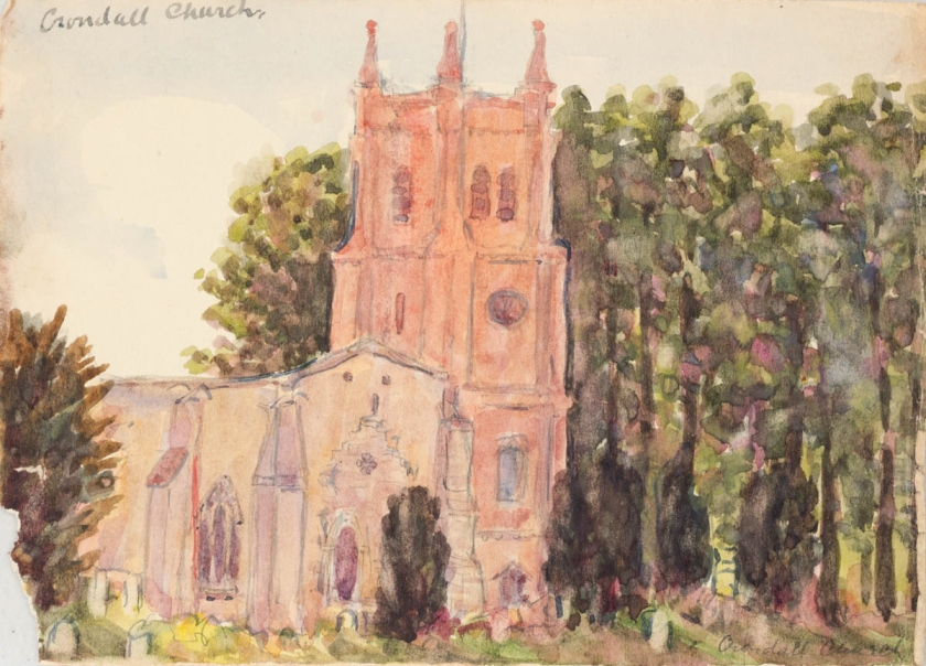 Lincoln Lee - Crondall Church - August 1917