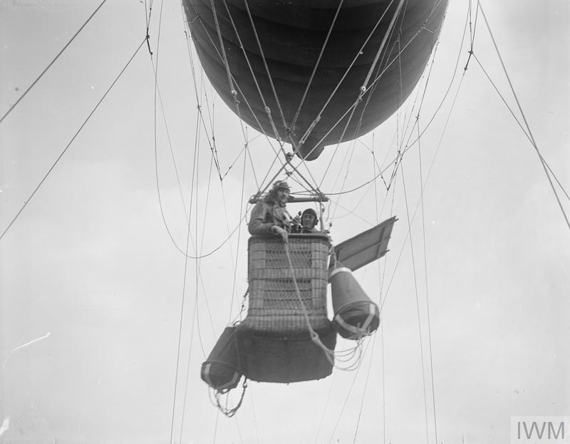 IWM Q 12028 Observation Balloon