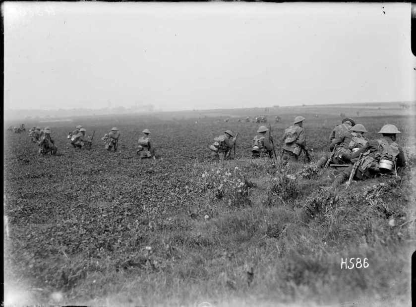 nlnzimage 1-2 013197-G NZ troops training, 11 May 1918