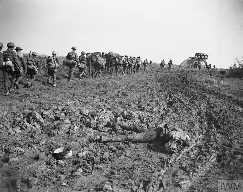 IWM (Q 9372) Attack on Hindenburg Line near Bellicourt, 29 Sep 1918