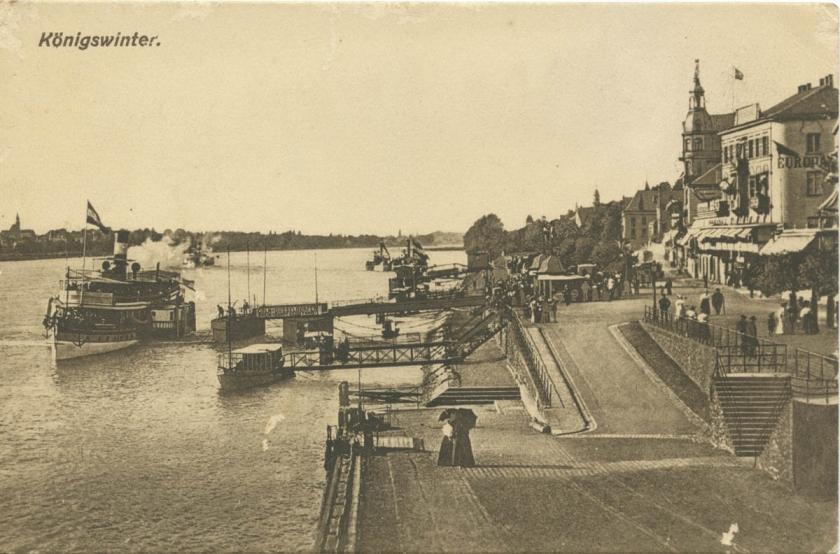 postcard - konigswinter - 1919